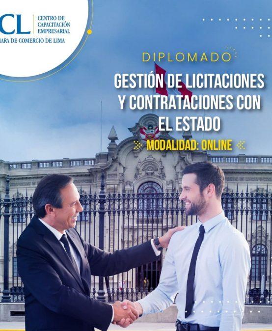Diplomado en Gestión de Licitaciones y Contrataciones con el Estado