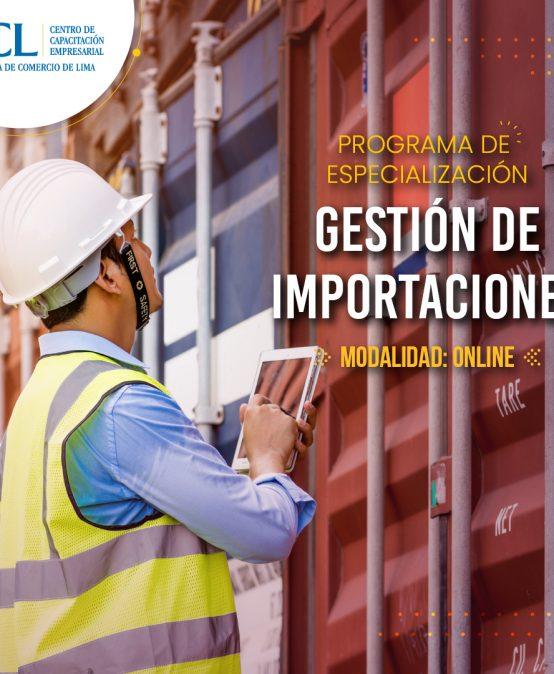 Especialización en Gestión de Importaciones