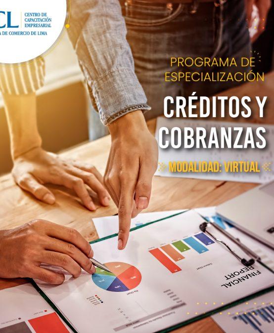 Especialización VIRTUAL en Créditos y Cobranzas