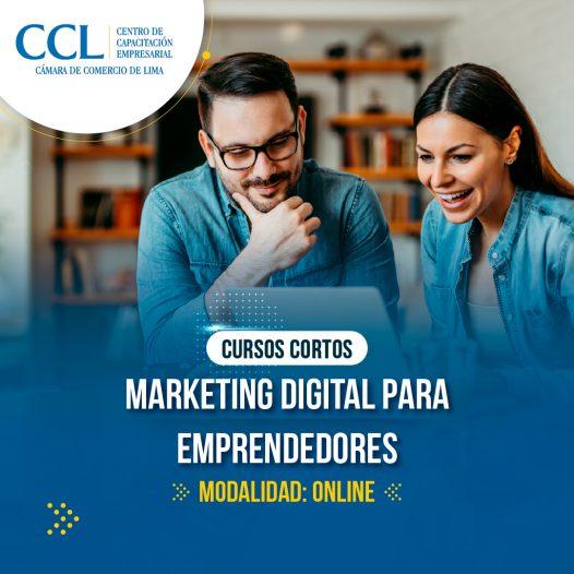 Marketing Digital para Emprendedores (CC-15 horas Online)